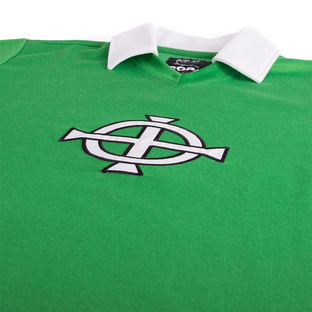 George Best Northern Ireland 1977 Retro Football Shirt | 3 | COPA