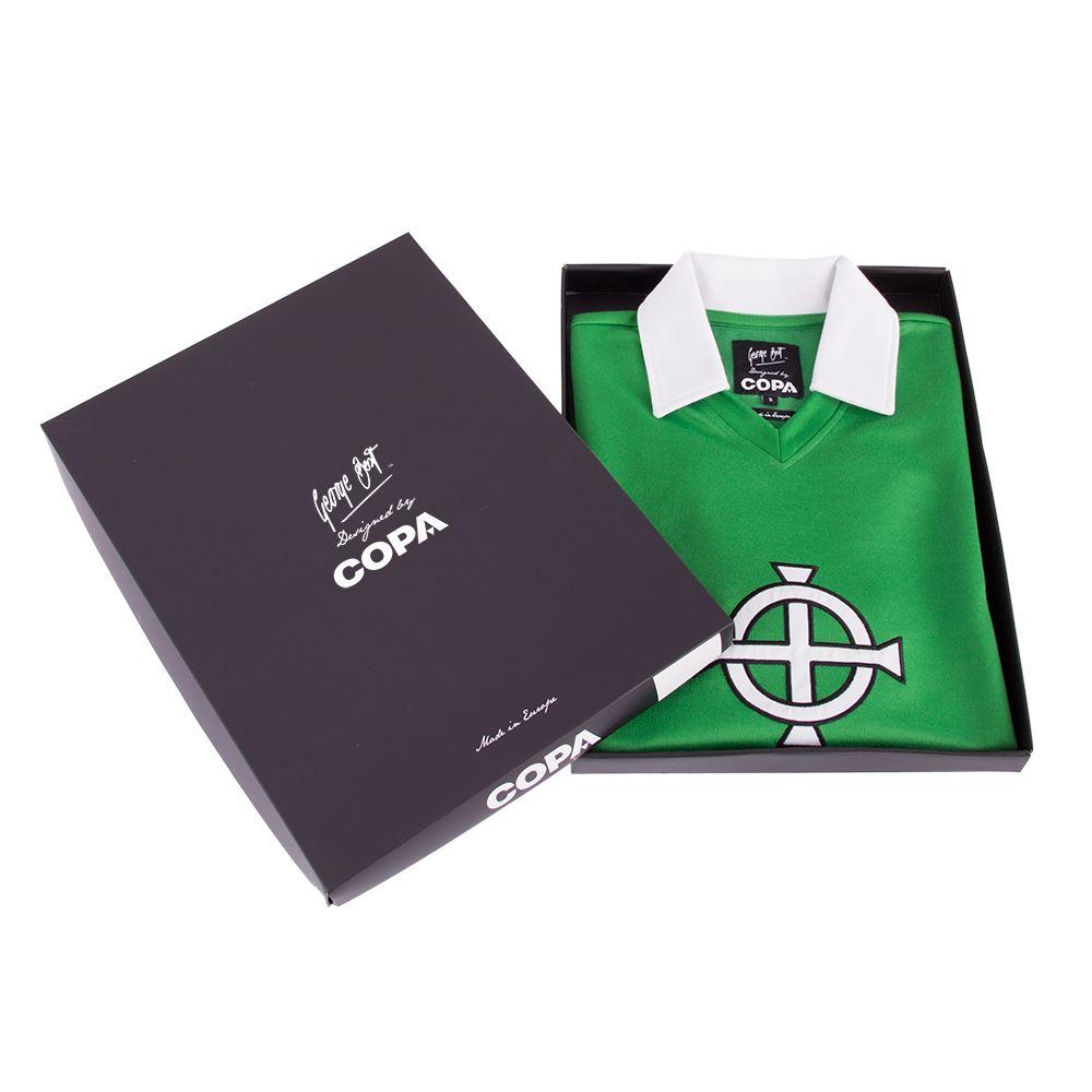 George Best Northern Ireland 1977 Retro Football Shirt | 5 | COPA