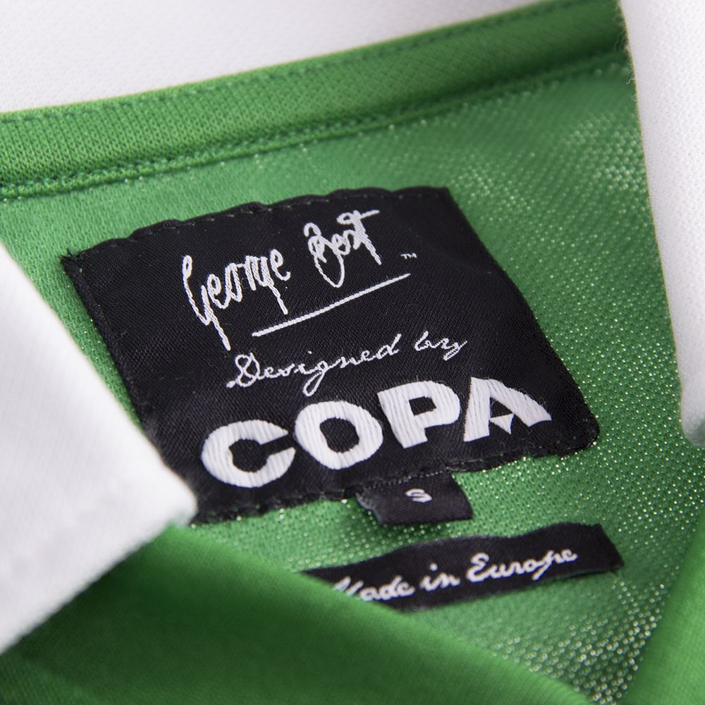 George Best Northern Ireland 1977 Retro Football Shirt | 6 | COPA