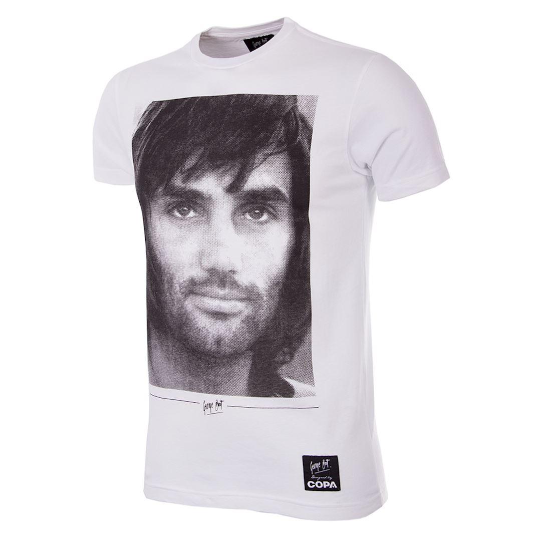 George Best Portrait T-Shirt | 1 | COPA