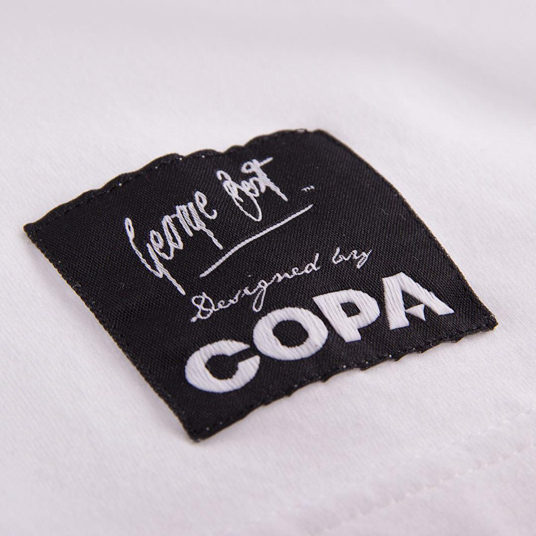 George Best Portrait T-Shirt | 4 | COPA