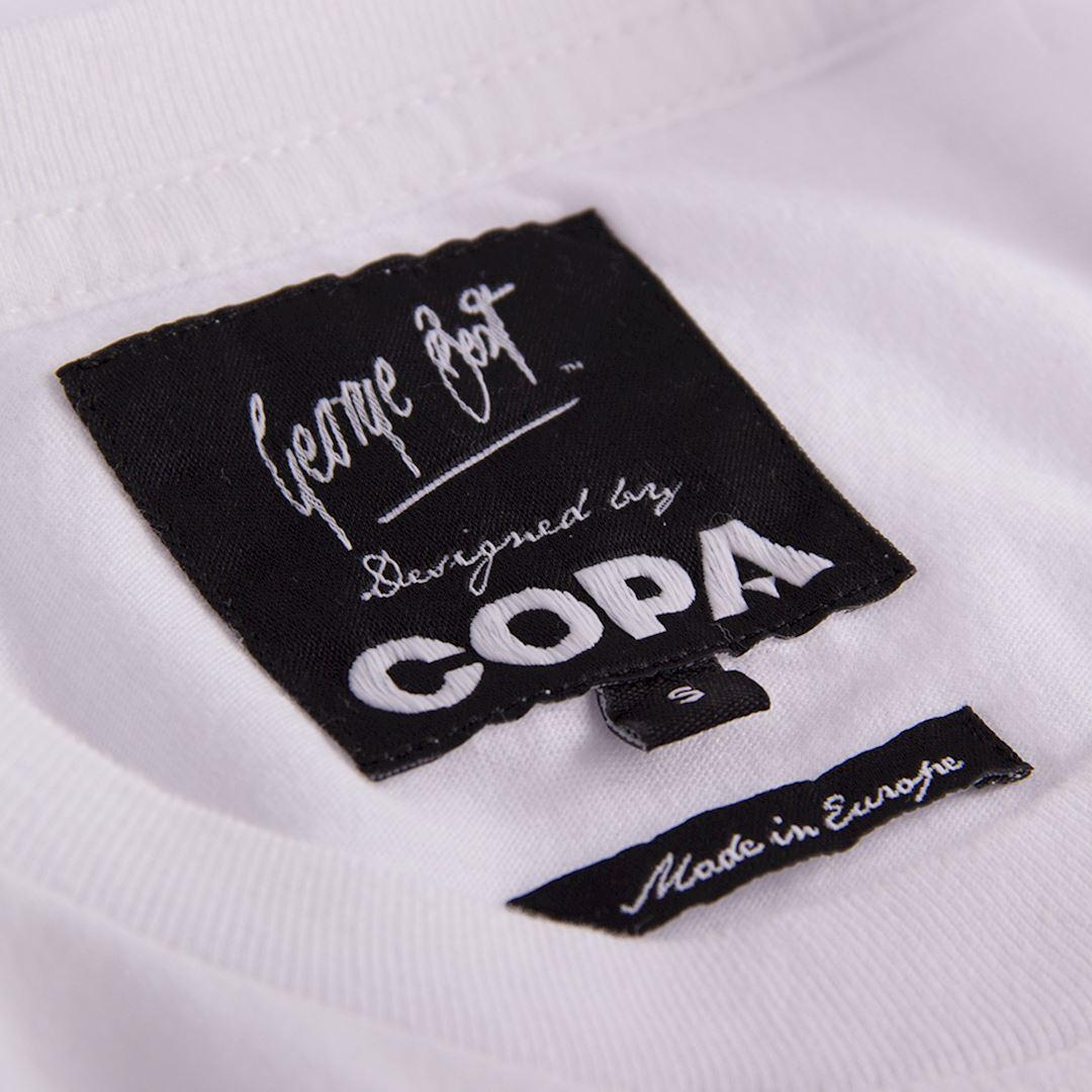 George Best Portrait T-Shirt | 5 | COPA