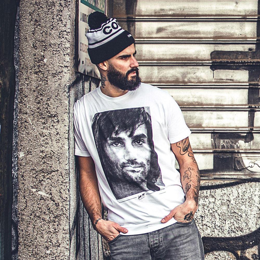 George Best Portrait T-Shirt | 6 | COPA