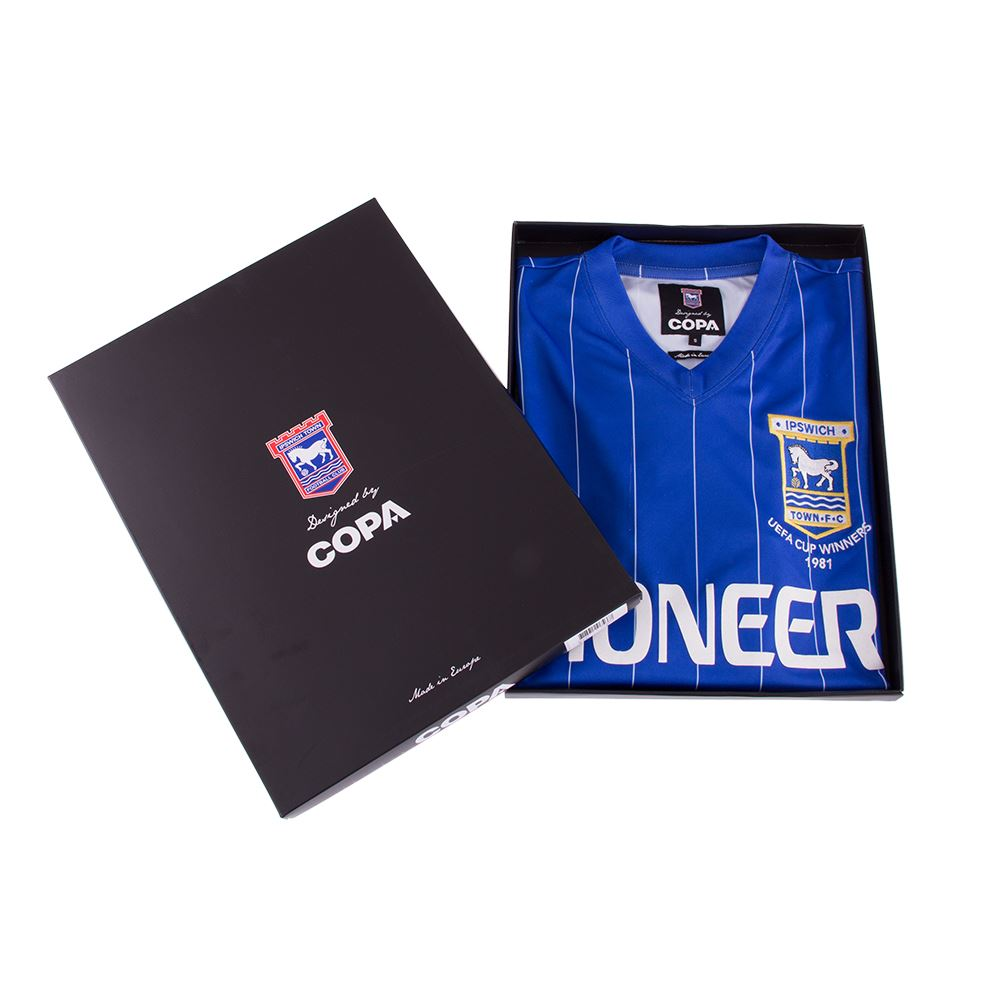 Ipswich Town FC 1981 - 82 Retro Voetbal Shirt | 6 | COPA