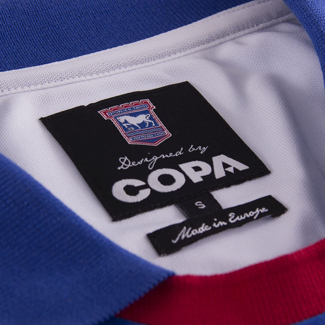 Ipswich Town FC 1991 - 92 Retro Voetbal Shirt | 6 | COPA