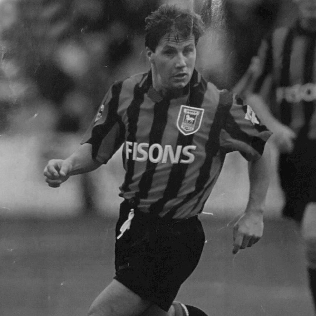 Ipswich Town FC 1991 - 92 Retro Voetbal Shirt | 2 | COPA