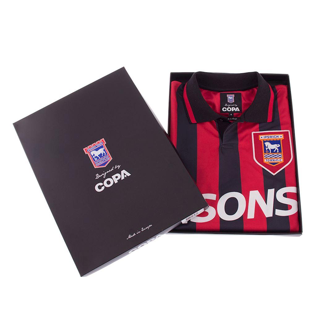 Ipswich Town FC 1991 - 92 Retro Voetbal Shirt | 6 | COPA