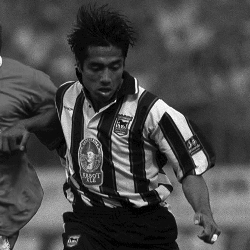 Ipswich Town FC Away 1997 - 98 Maillot de Foot Rétro | 2 | COPA