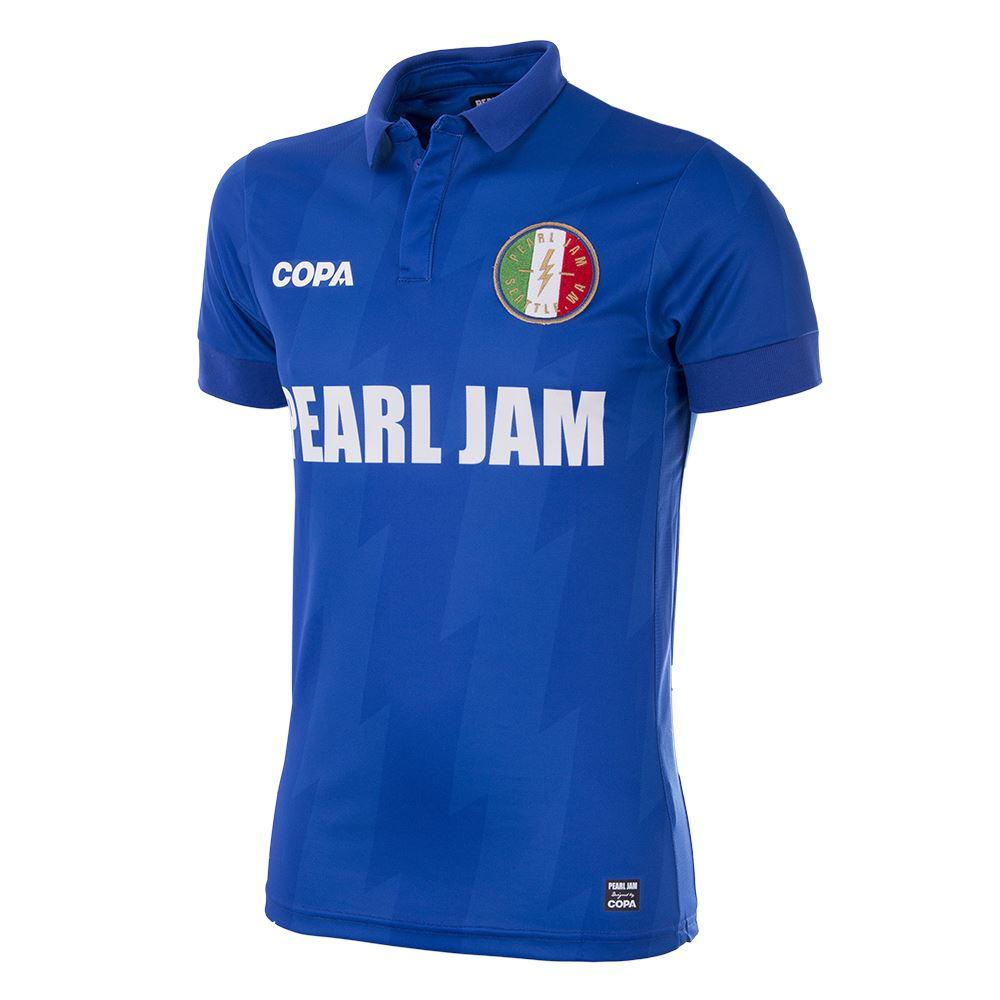 Italy PEARL JAM x COPA Football Shirt   1   COPA