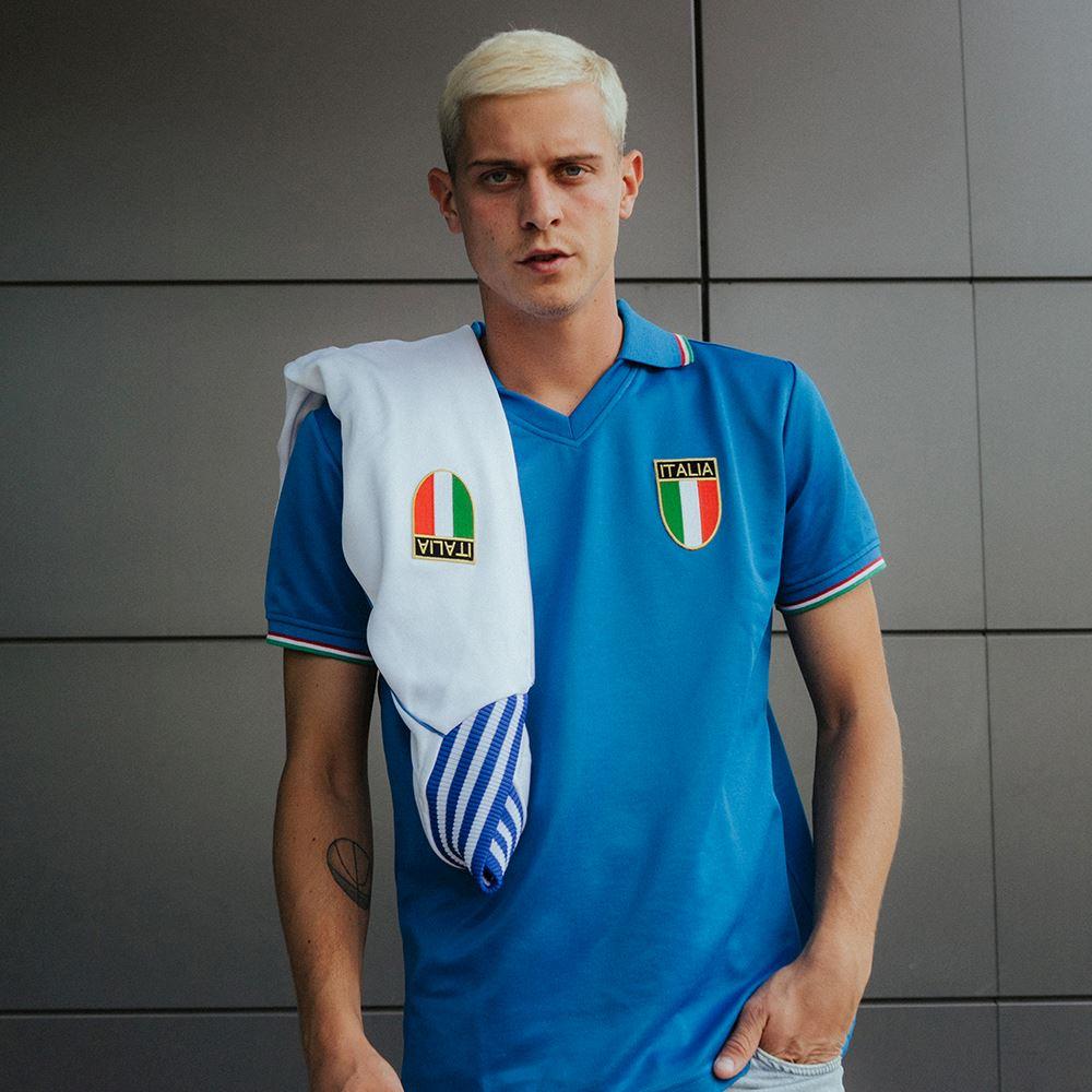 Italy World Cup 1982 Retro Football Shirt | 7 | COPA