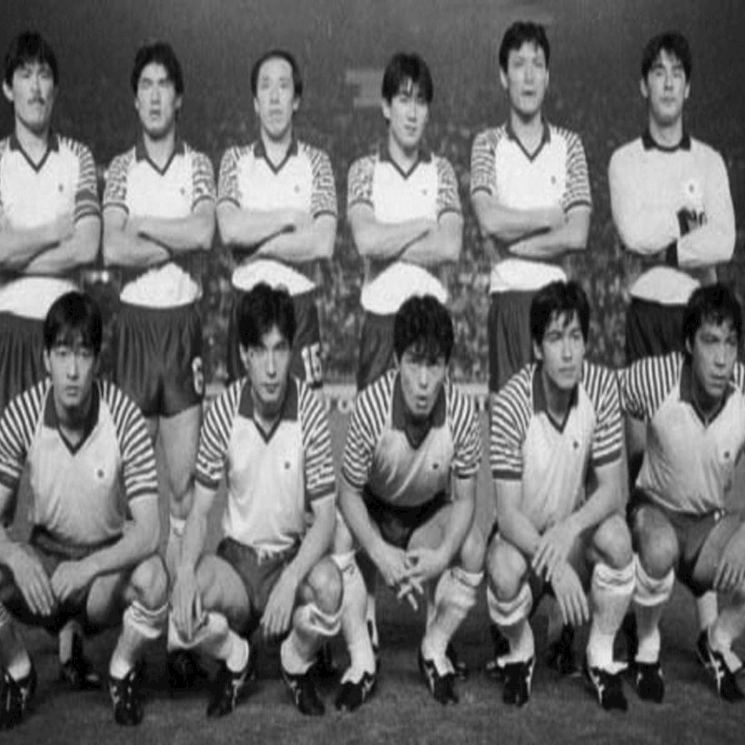 281 | Japan 1987 - 88 Retro Football Shirt | 2 | COPA