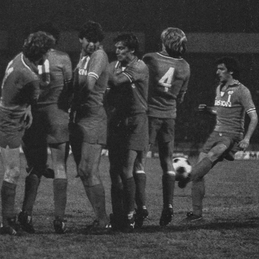 Juventus FC 1983 Away Retro Football Shirt   2   COPA