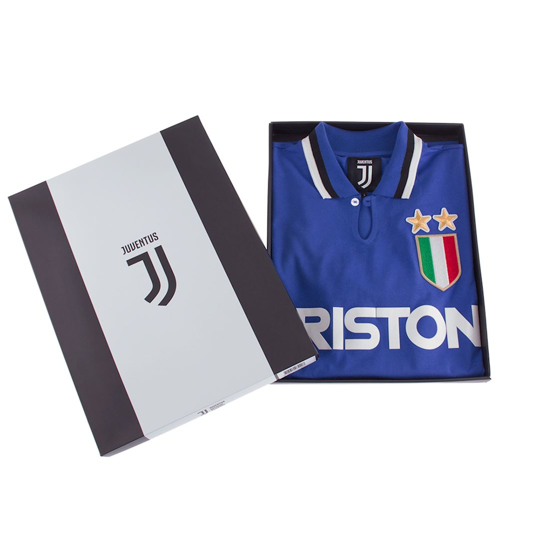Juventus FC 1983 Away Retro Football Shirt   6   COPA