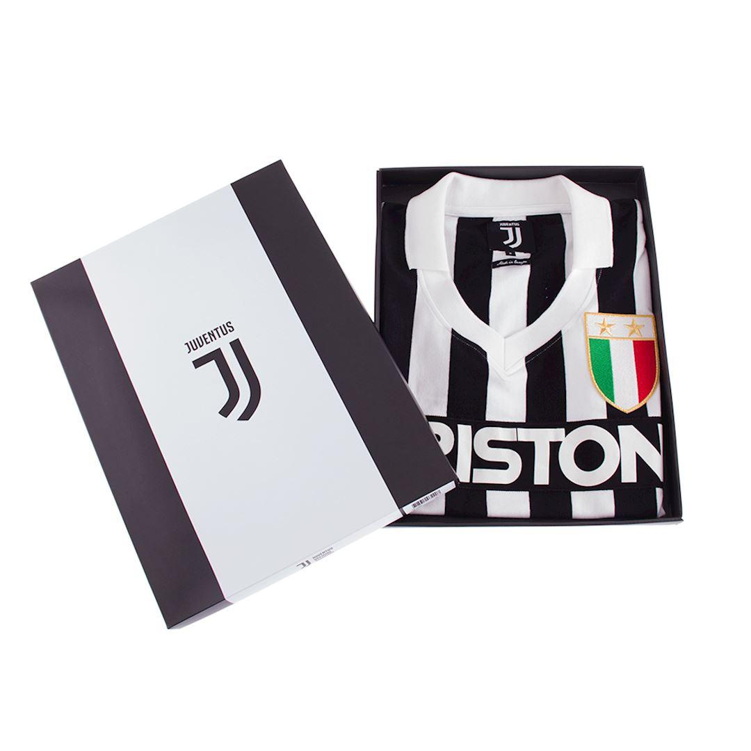Juventus FC 1984 - 85 Womens Retro Football Shirt | 6 | COPA