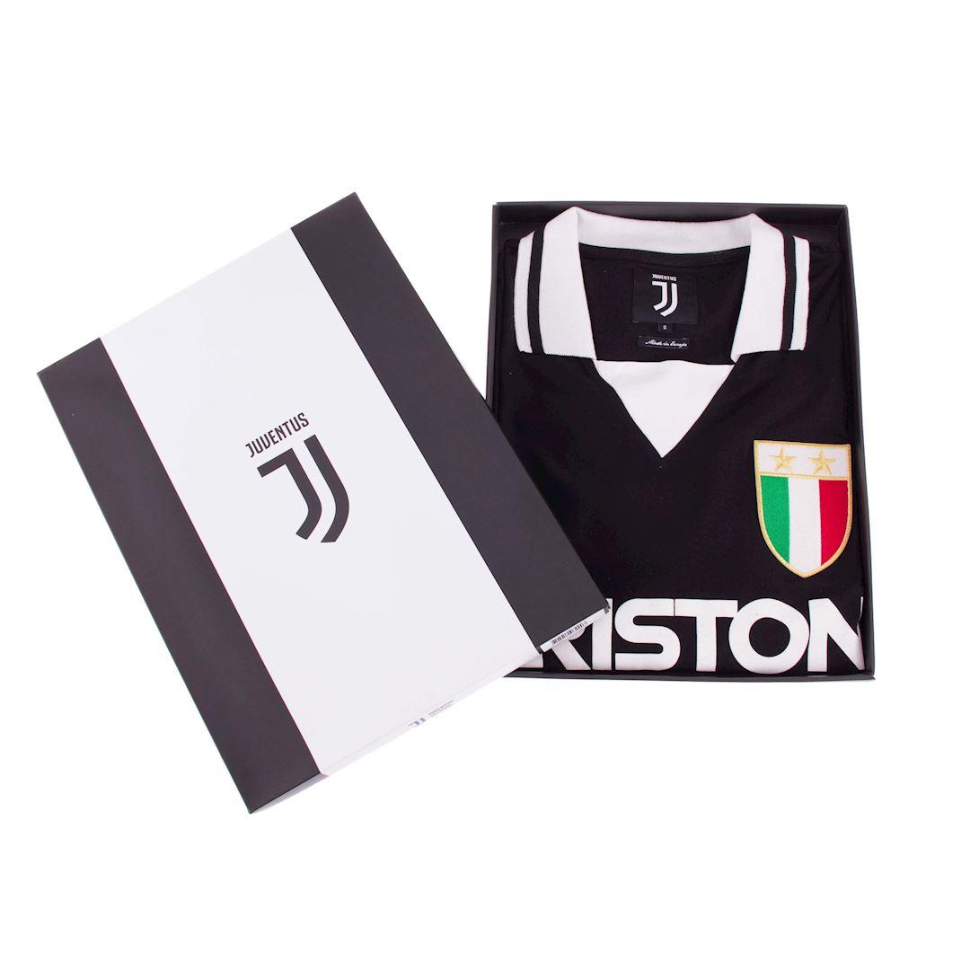 Juventus FC 1986 - 87 Away Maillot de Foot Rétro | 6 | COPA