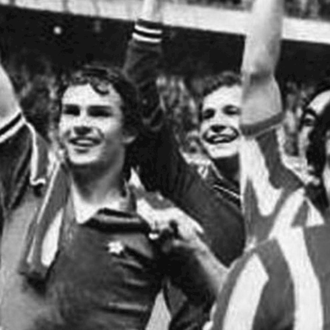Juventus FC 1976 - 77 Away Coppa UEFA Maillot de Foot Rétro | 2 | COPA