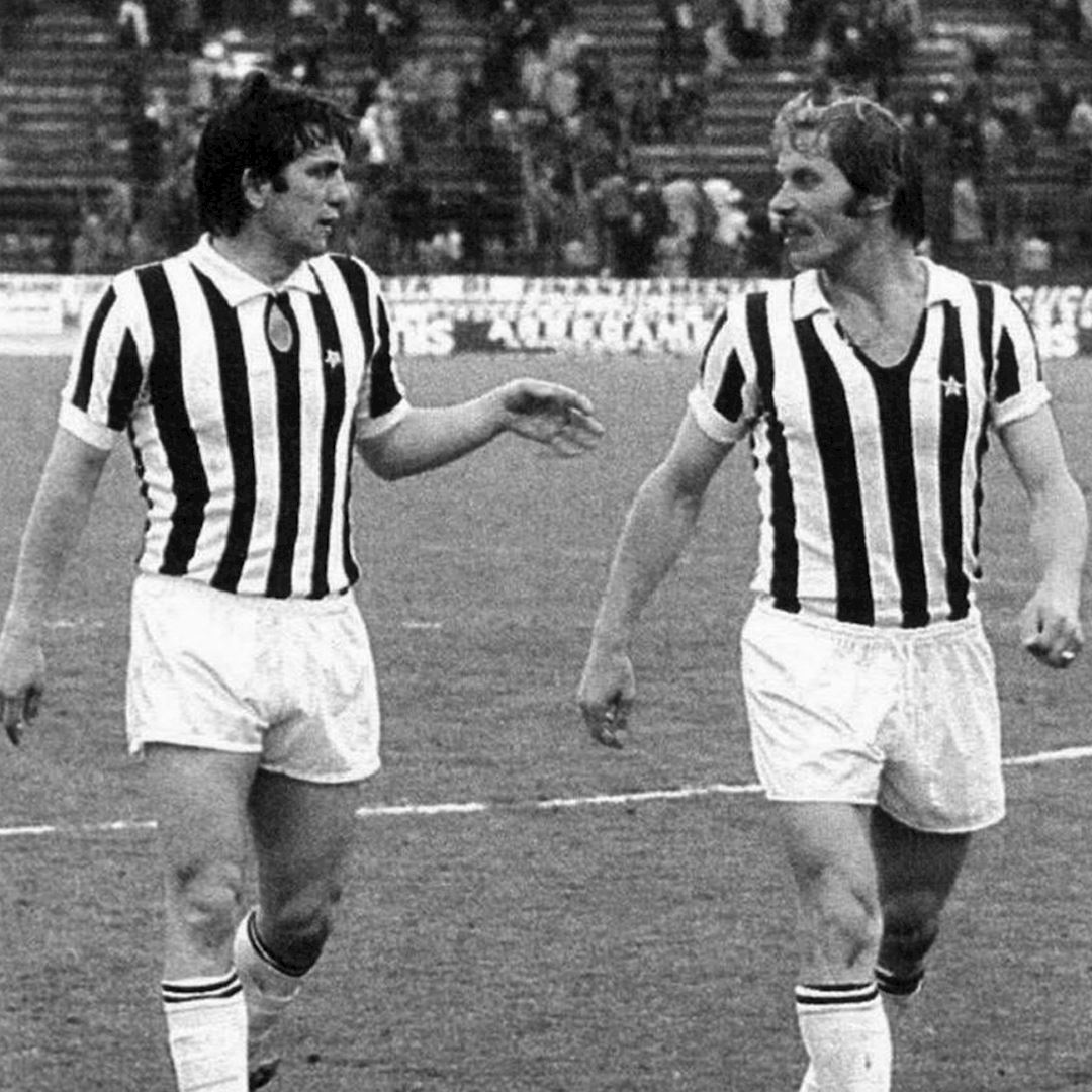 Juventus FC 1976 - 77 Coppa UEFA Retro Football Shirt | 2 | COPA