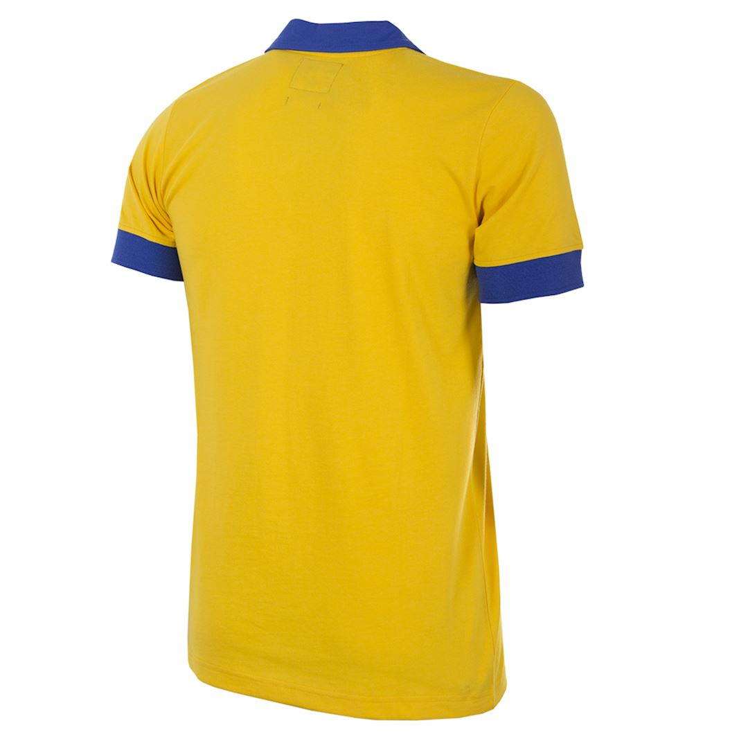 Juventus FC 1983 - 84 Away Coppa delle Coppe UEFA Retro Football Shirt | 4 | COPA