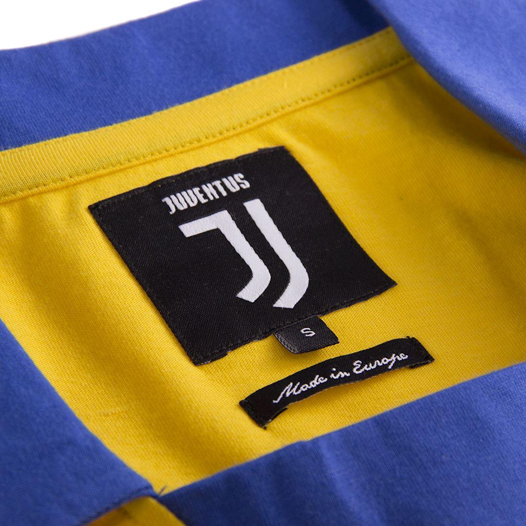 Juventus FC 1983 - 84 Away Coppa delle Coppe UEFA Retro Football Shirt | 5 | COPA