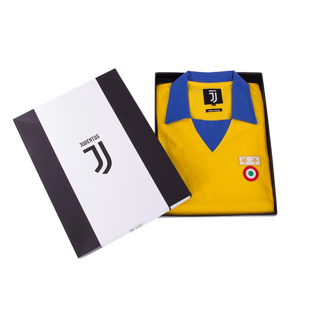 Juventus FC 1983 - 84 Away Coppa delle Coppe UEFA Retro Football Shirt | 6 | COPA