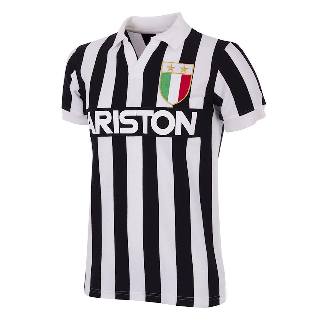 Juventus FC 1984 - 85 Retro Football Shirt | 1 | COPA