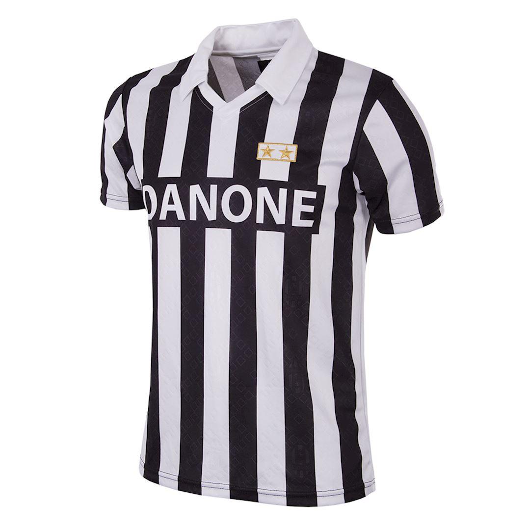 Juventus FC 1992 - 93 Coppa UEFA Maillot de Foot Rétro | 1 | COPA
