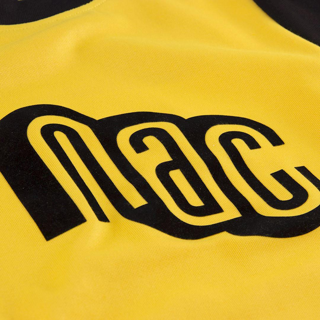NAC Breda 1981 - 82 Maillot de Foot Rétro | 3 | COPA