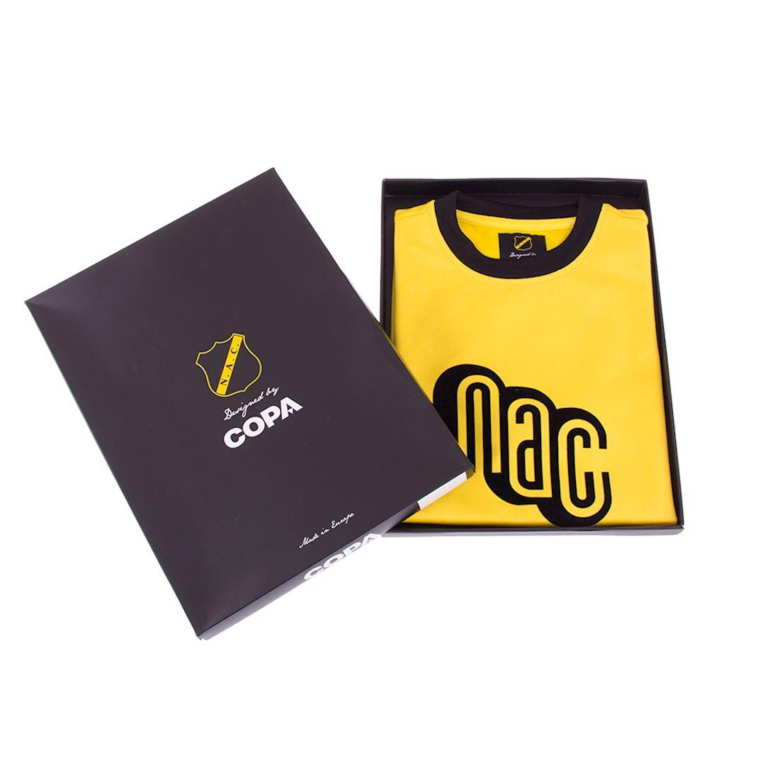 NAC Breda 1981 - 82 Maillot de Foot Rétro | 6 | COPA