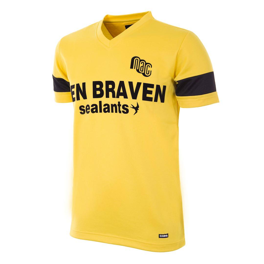 NAC Breda 1989 - 90 Retro Football Shirt | 1 | COPA