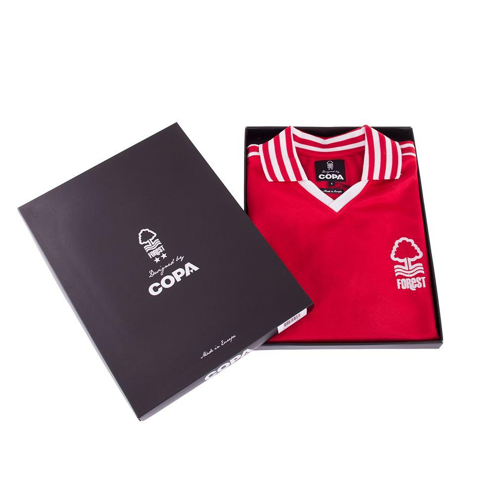 Nottingham Forest 1976-1977 Retro Football Shirt | 6 | COPA
