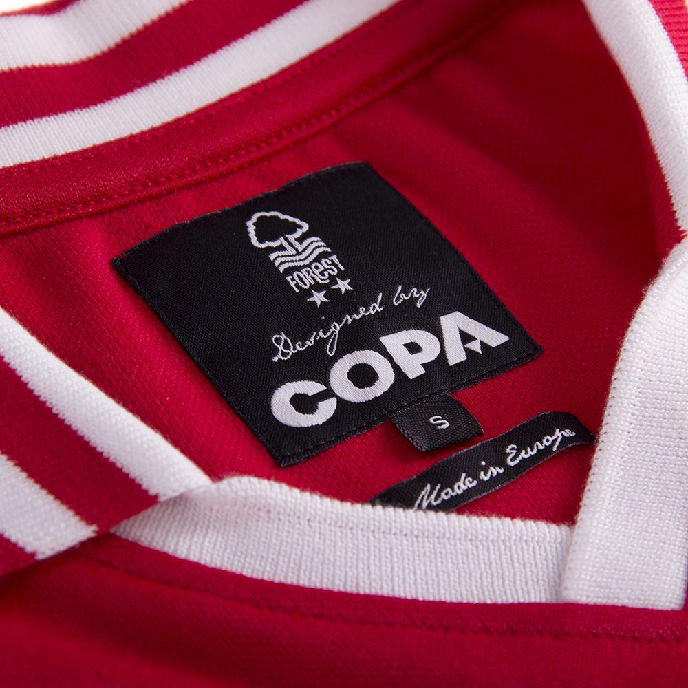 Nottingham Forest 1976-1977 Retro Football Shirt | 7 | COPA