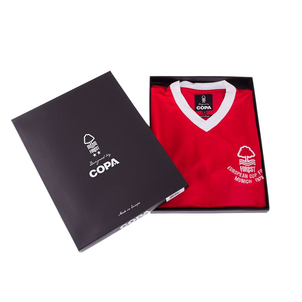 Nottingham Forest 1979 European Cup Final Retro Football Shirt | 6 | COPA