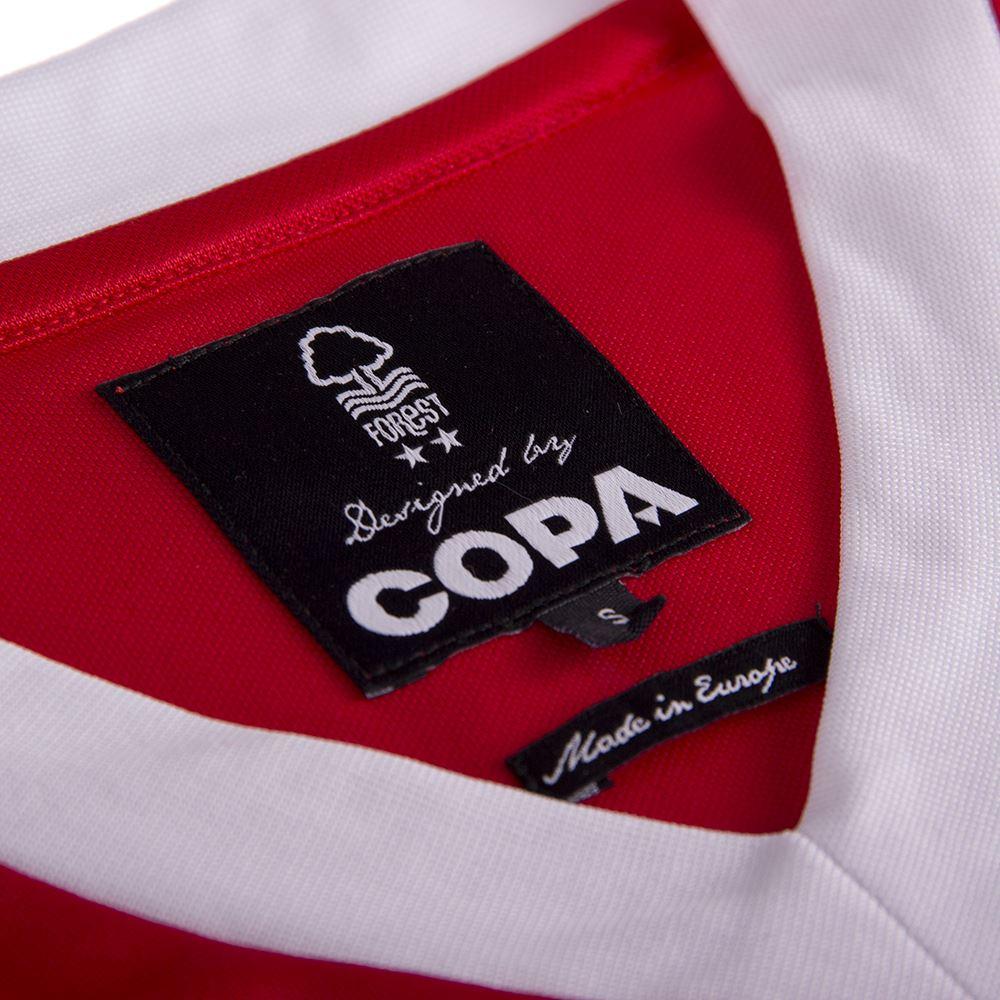 Nottingham Forest 1979 European Cup Final Retro Football Shirt | 7 | COPA