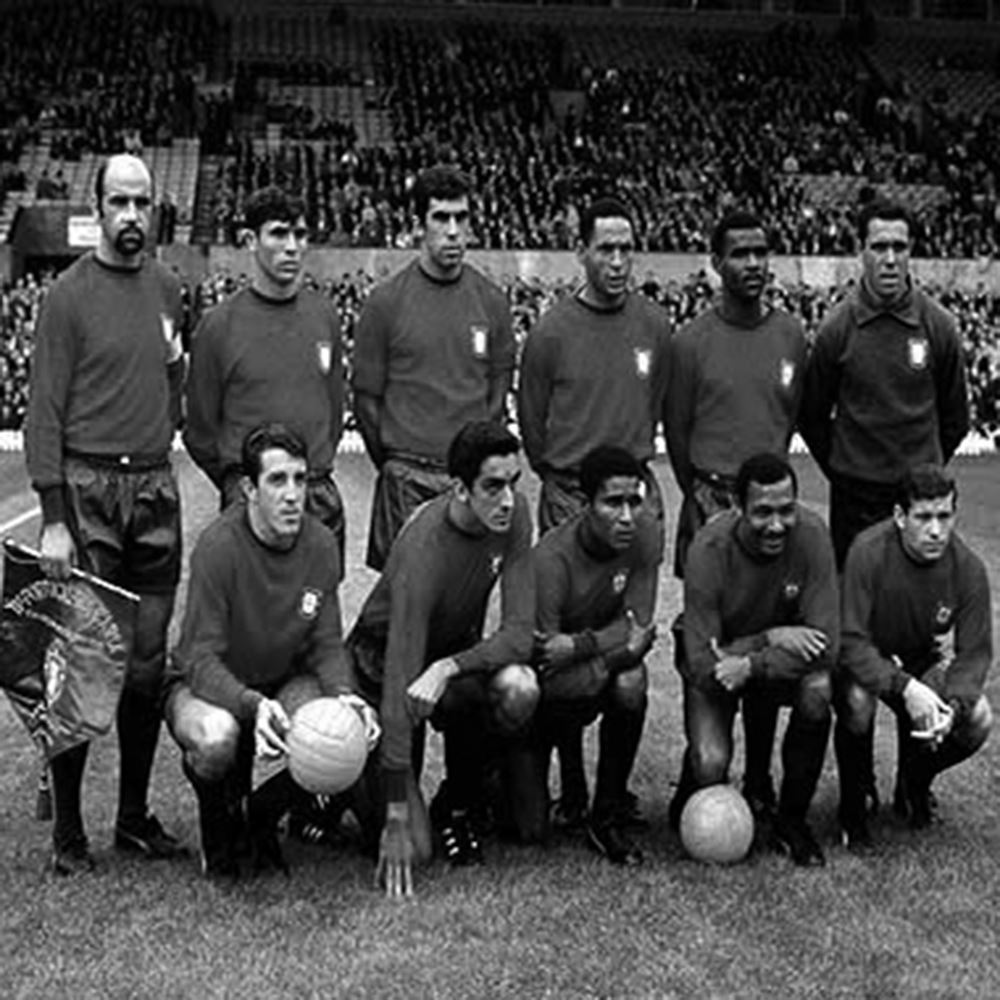 Portugal 1960's Retro Football Shirt | 2 | COPA