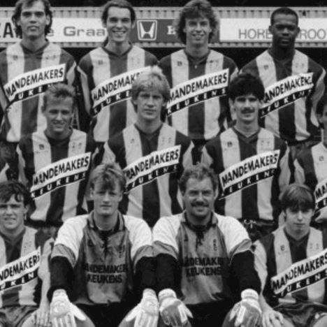 RKC Waalwijk 1992 - 93 Retro Football Shirt | 2 | COPA
