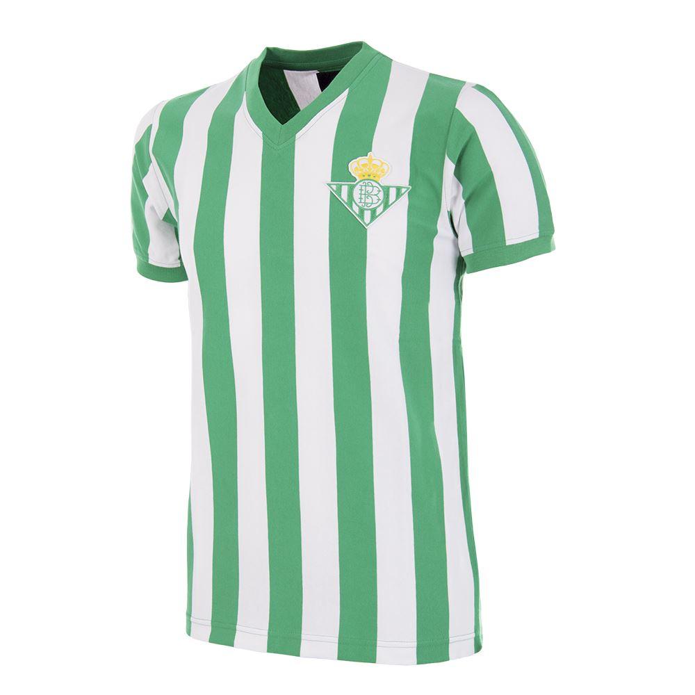 Real Betis 1976 - 77 Retro Football Shirt   1   COPA