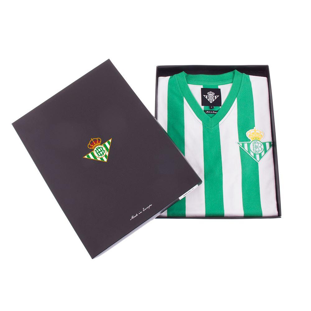 Real Betis 1976 - 77 Retro Football Shirt   6   COPA