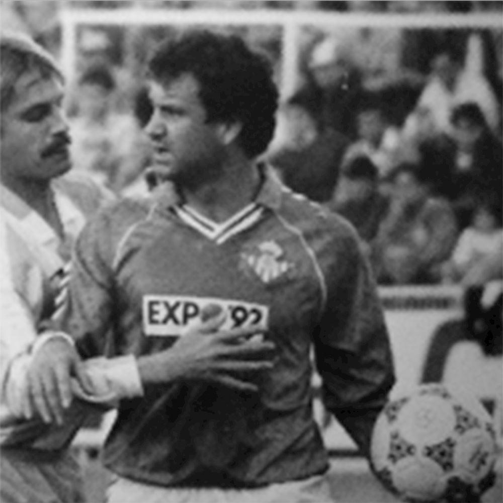 Real Betis 1987 - 90 Away Retro Football Shirt | 2 | COPA