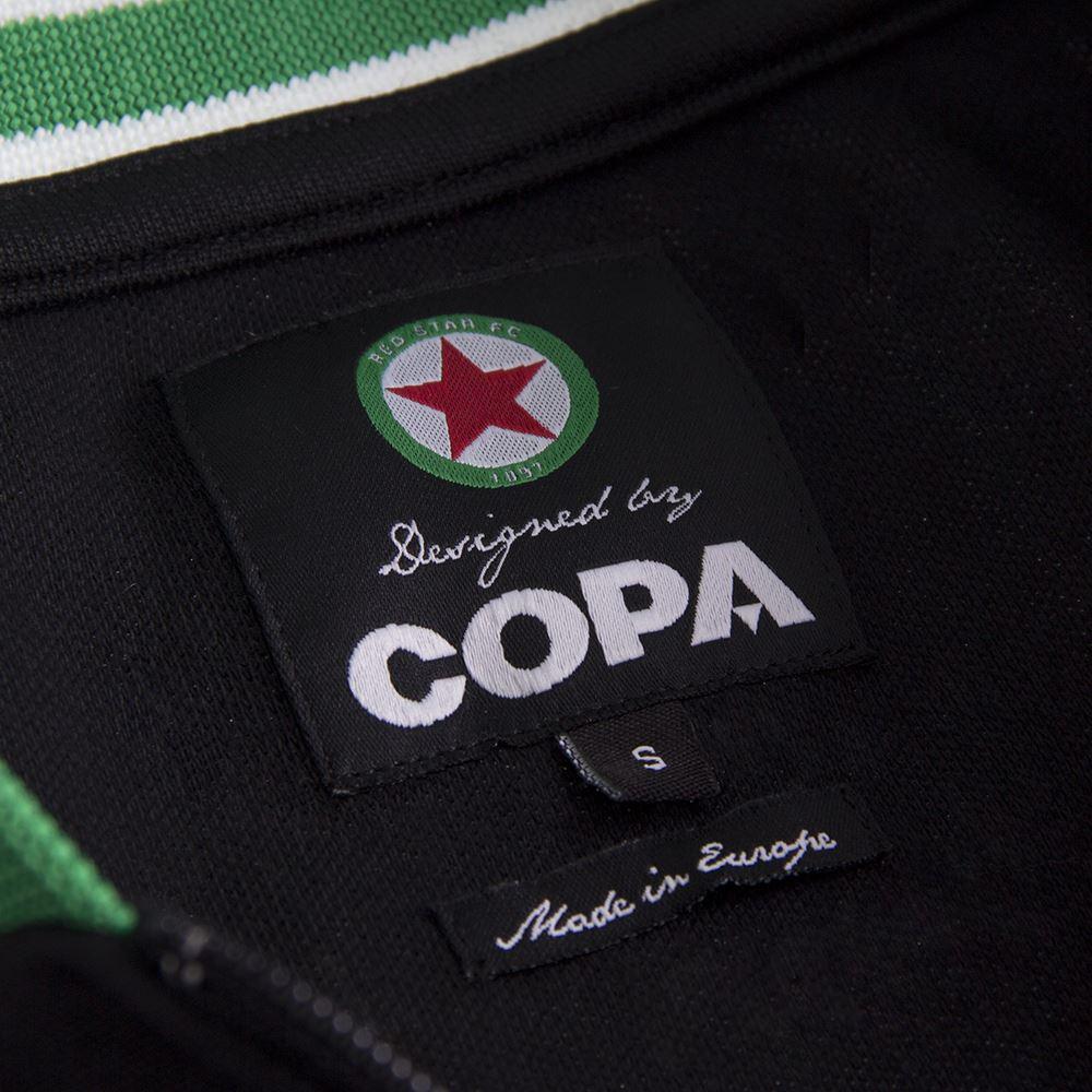 Red Star F.C. 1963 Retro Football Jacket | 8 | COPA