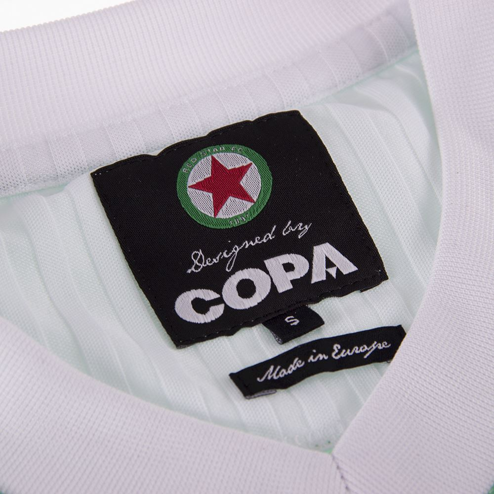 Red Star F.C. 1991 - 92 Retro Football Shirt | 5 | COPA