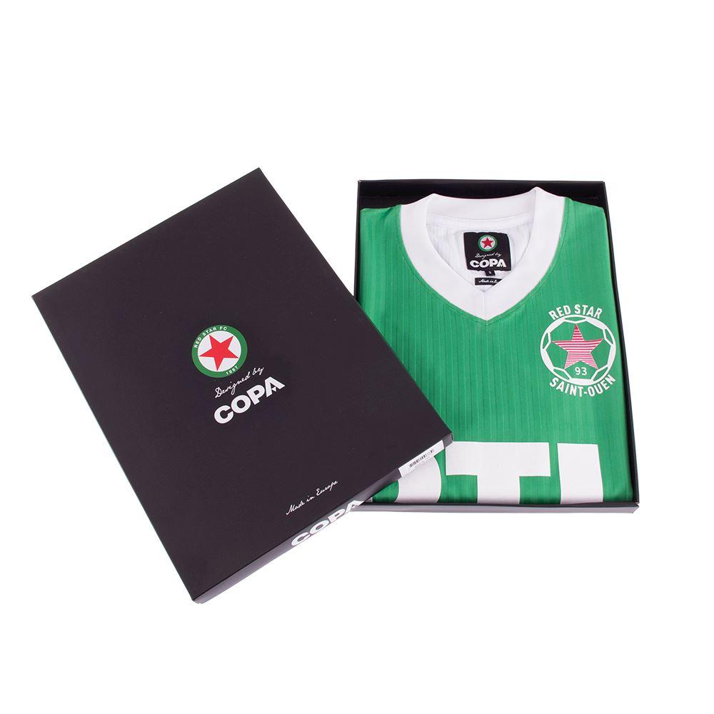 Red Star F.C. 1991 - 92 Retro Football Shirt | 6 | COPA