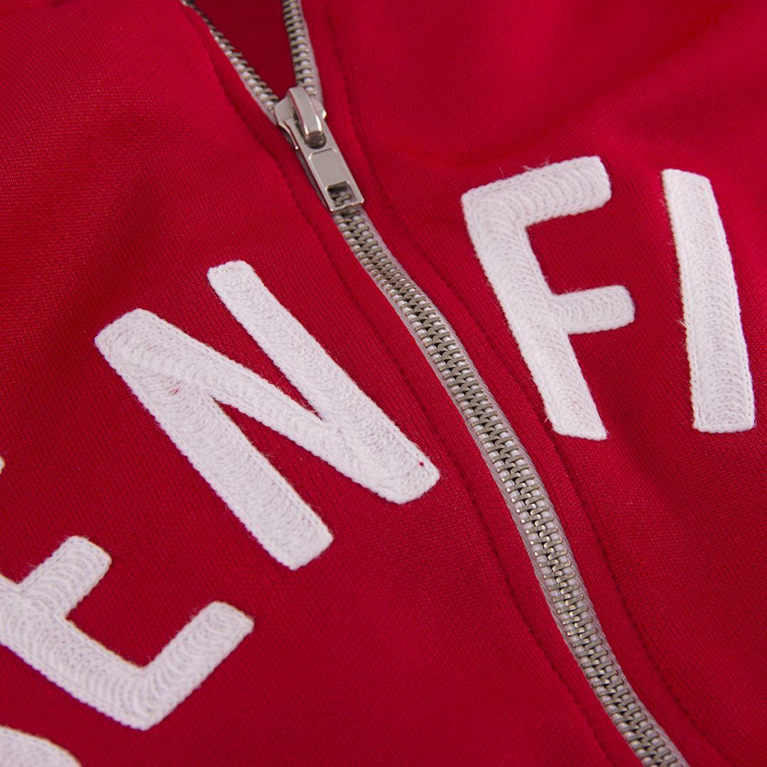 copa Herren Sl Benfica 1960s Retro Football Jacket Fu/ßballjacke