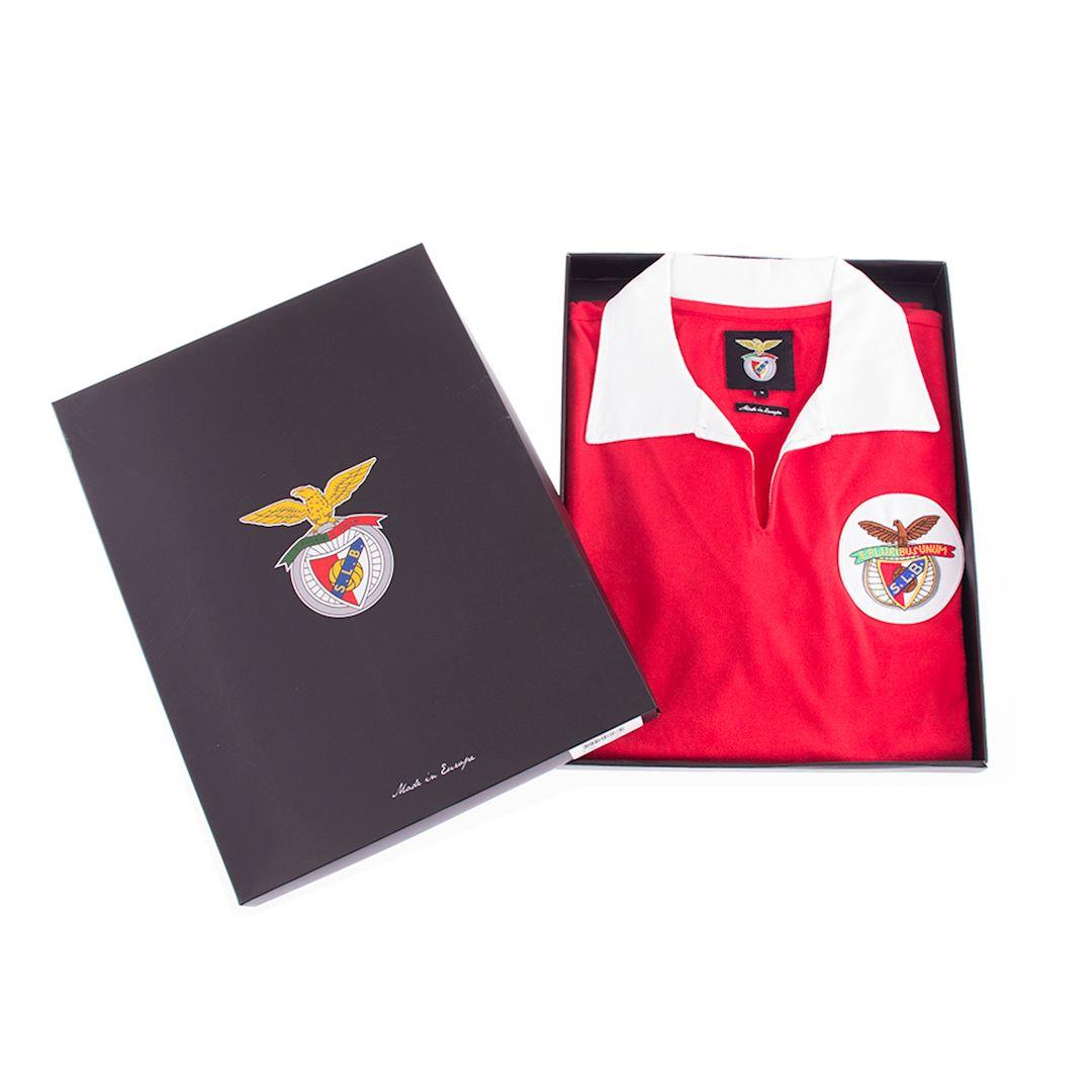 SL Benfica 1962 - 63 Retro Football Shirt | 6 | COPA