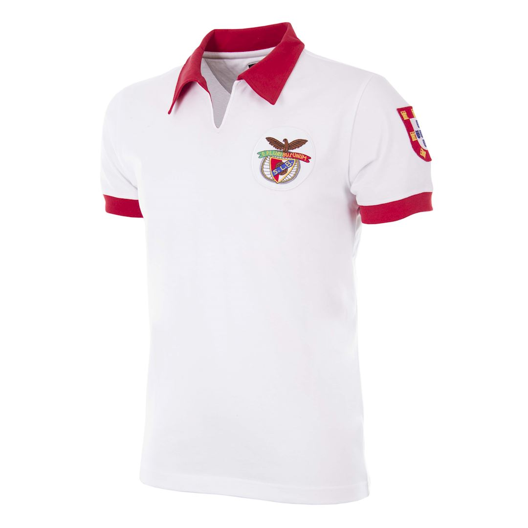 305 | SL Benfica 1968 Away Retro Football Shirt | 1 | COPA