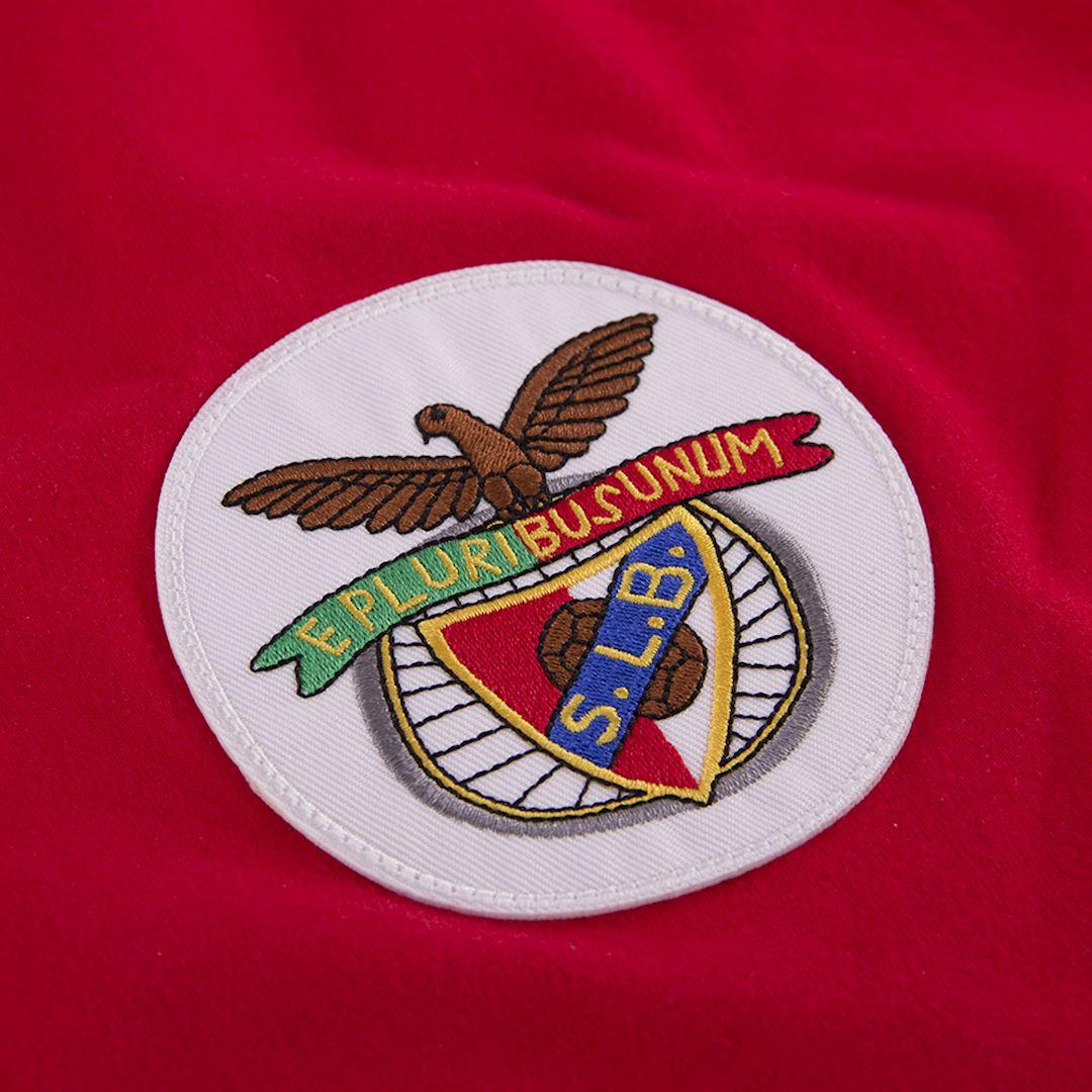 SL Benfica 1974 - 75 Retro Football Shirt   3   COPA
