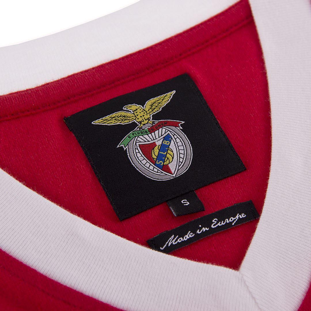 SL Benfica 1974 - 75 Retro Football Shirt   5   COPA