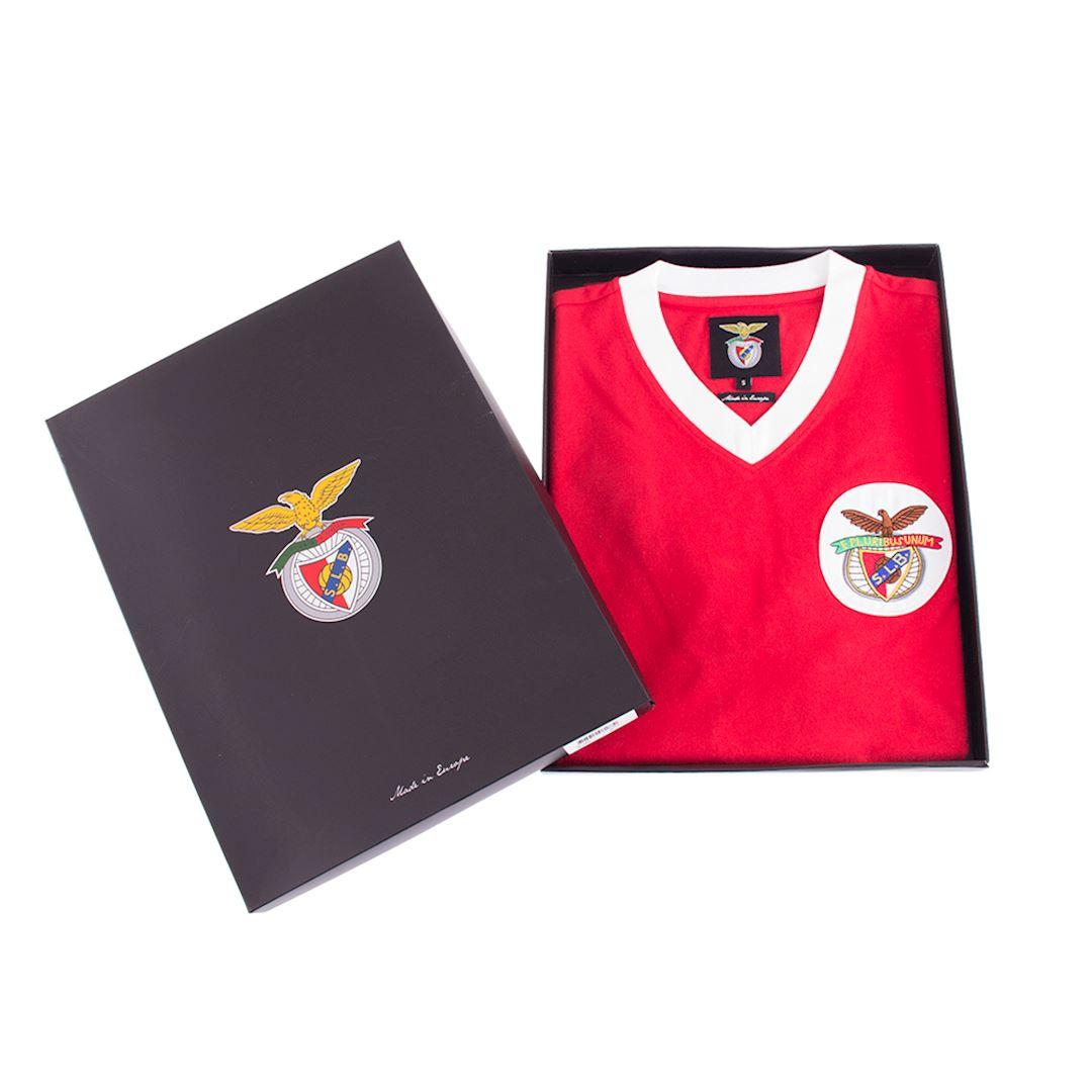 SL Benfica 1974 - 75 Retro Football Shirt   6   COPA