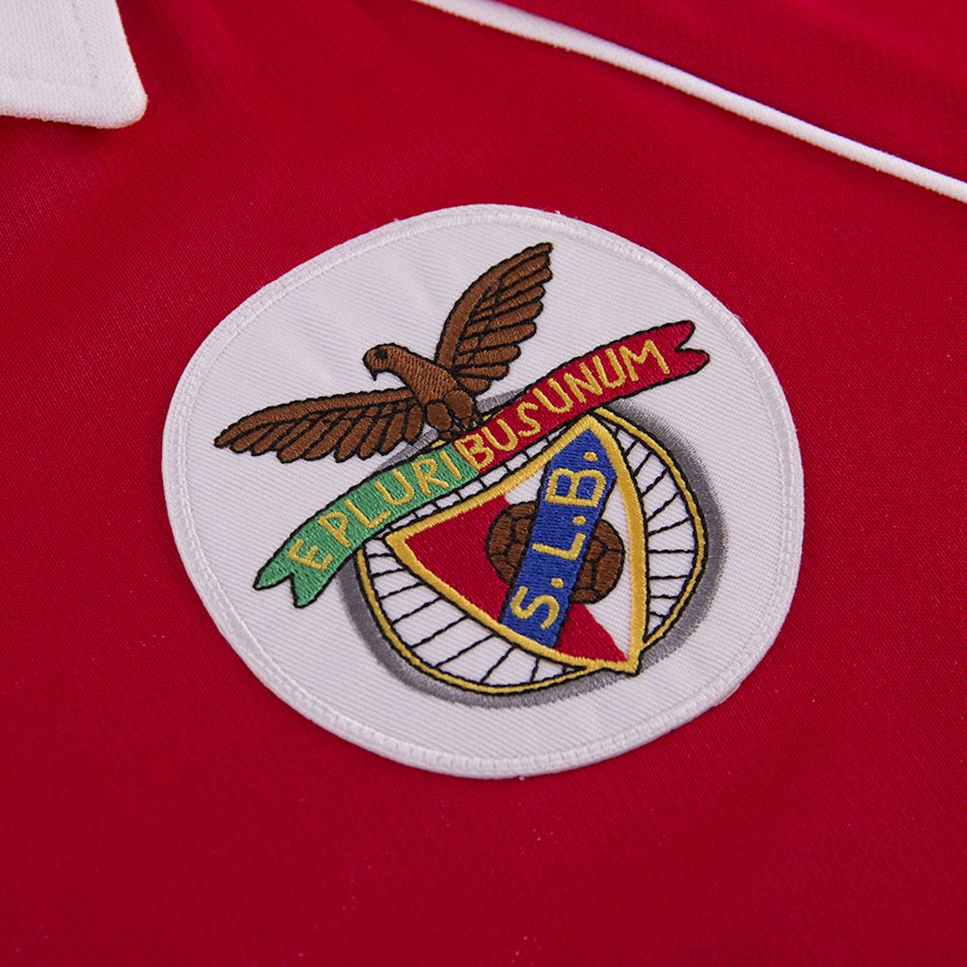 SL Benfica 1983 - 84 Retro Voetbal Shirt | 3 | COPA