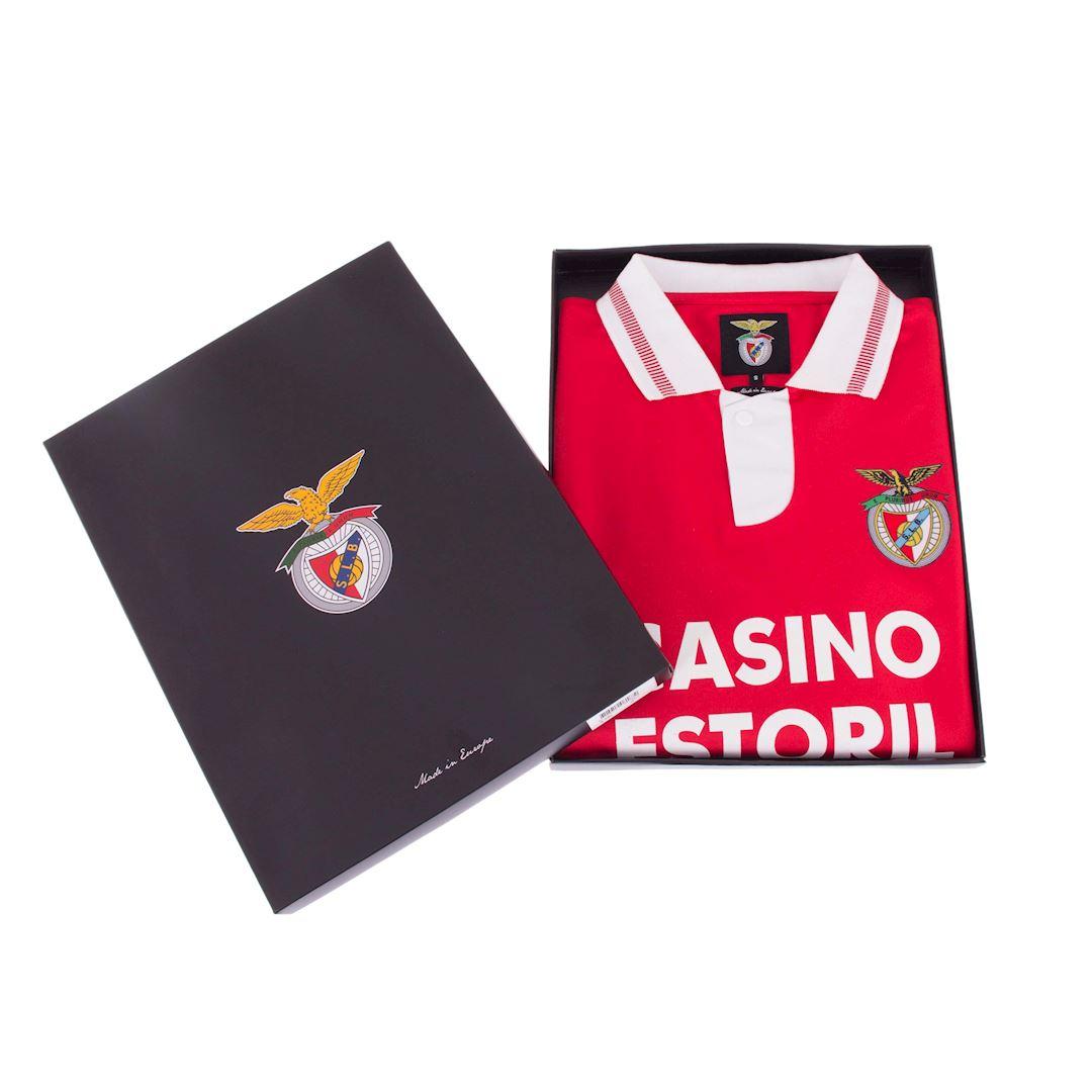 SL Benfica 1992 - 93 Maillot de Foot Rétro | 7 | COPA