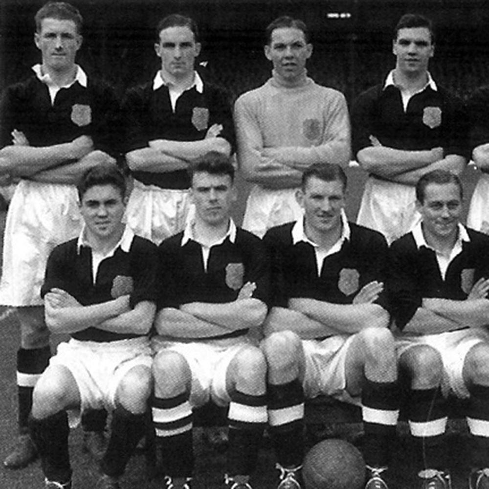 Scotland 1950's Retro Football Shirt | 2 | COPA